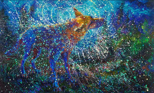 , 'Lobo del Cielo,' 2016, Adelman Fine Art