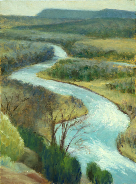 Margaret Leveson, 'The Chama River', 2015, Blue Mountain Gallery