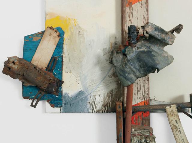 , 'Aen Floga (Combine Painting),' 1962, Gagosian