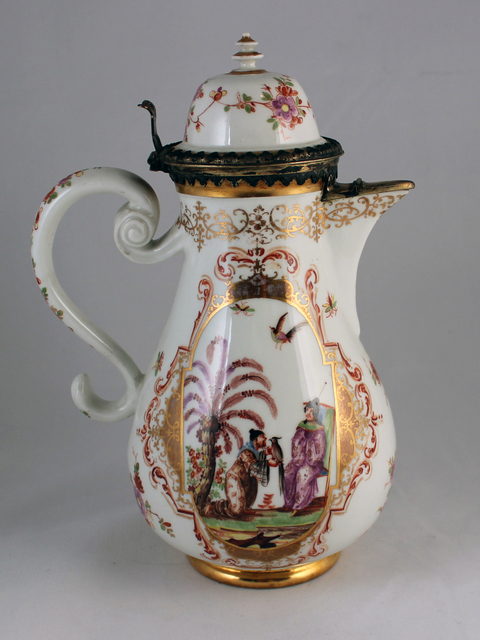 , 'Silver-mounted coffee pot,' ca. 1725, Michele Beiny Inc.