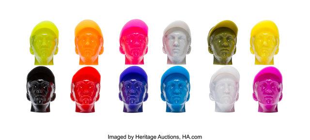 KAWS, 'Permanent Thirty-Three Heads, set of twelve', 2008, Heritage Auctions