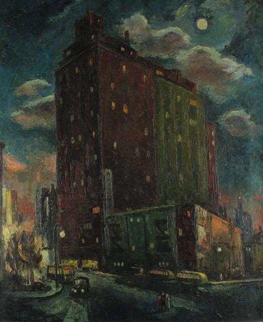 Frederick Buchholz, 'Manhattan Moonlight', 1938, VHD Gallery