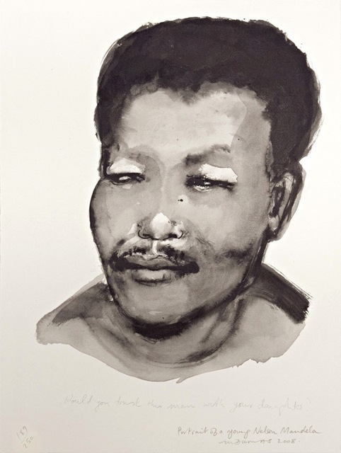 , 'Portrait of a Young Nelson Mandela,' 2008, David Krut Projects