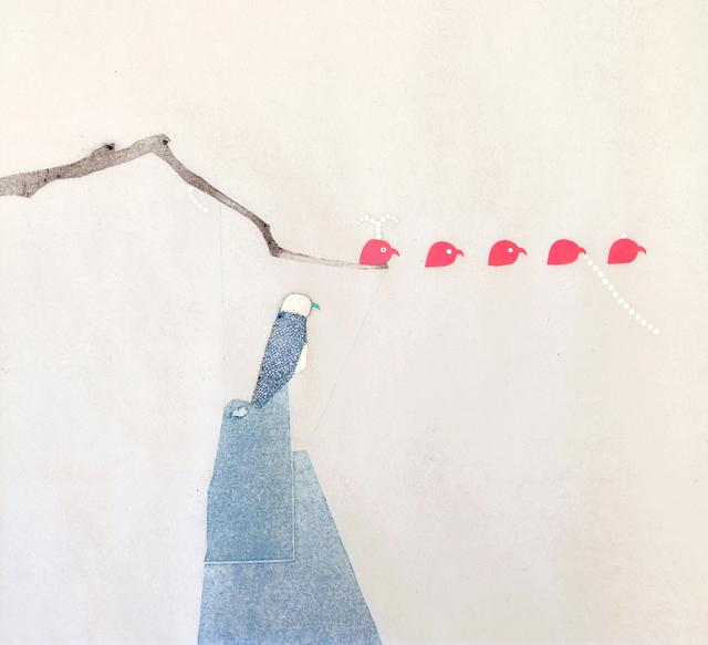 , 'Elan bleu-9,' 2014, Galerie Liusa Wang