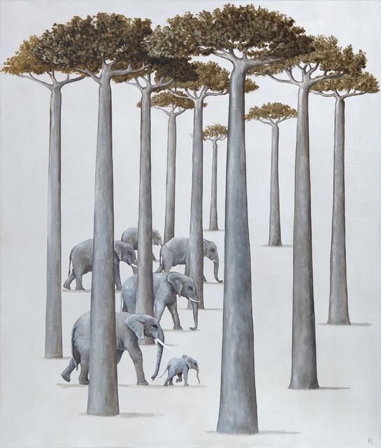 , 'A Parade of Elephants,' 2018, Jonathan Cooper