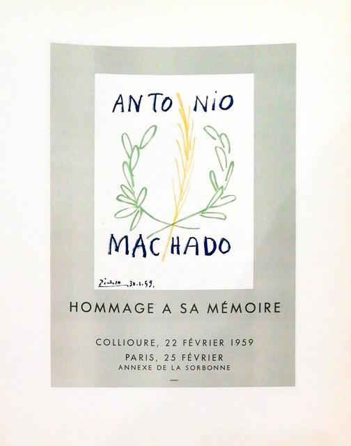 Pablo Picasso, 'Hommage Antonio Machado', 1959, Hidden