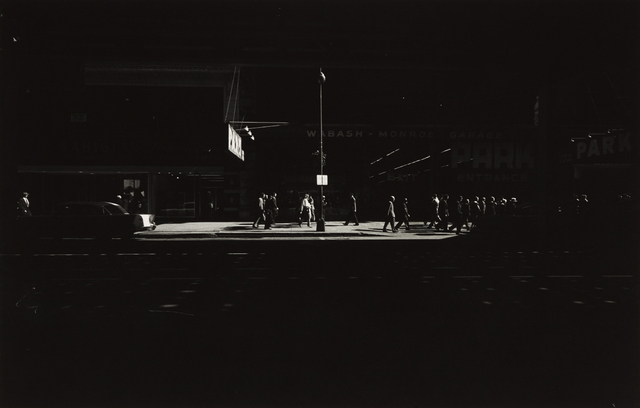 Harry Callahan, 'Wabash Avenue, Chicago', 1958-printed later, Phillips