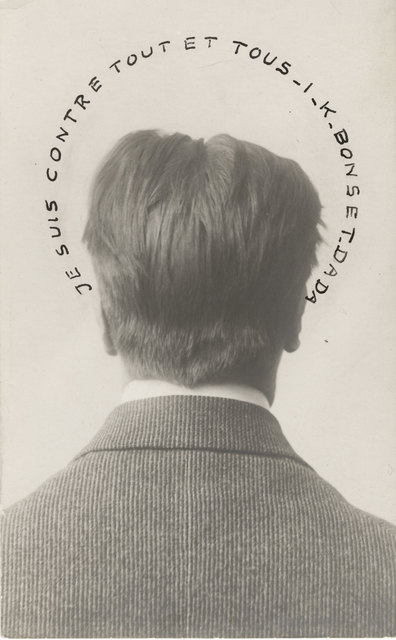 , 'Portrait of I.K. Bonset: I Am Against Everything and Everyone (Je suis contre tout et tous),' 1921, The Museum of Modern Art