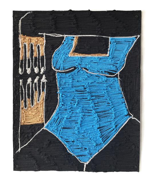 , '1, 2, 3,' 2017, Shulamit Nazarian