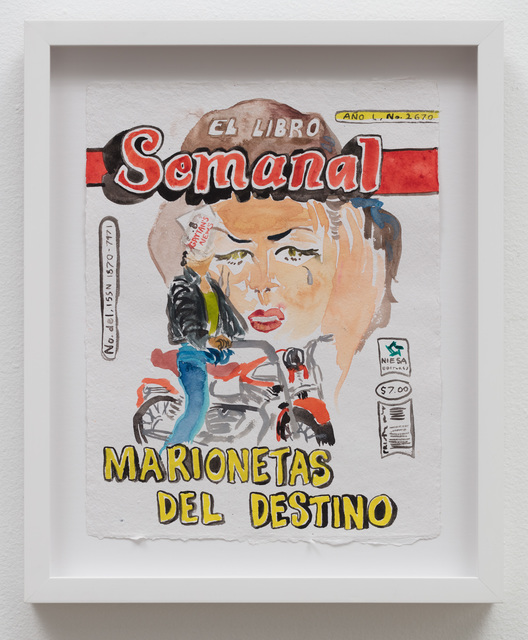 , 'El Libro Semanal: Marionetas Del Destino,' 2019, Klowden Mann