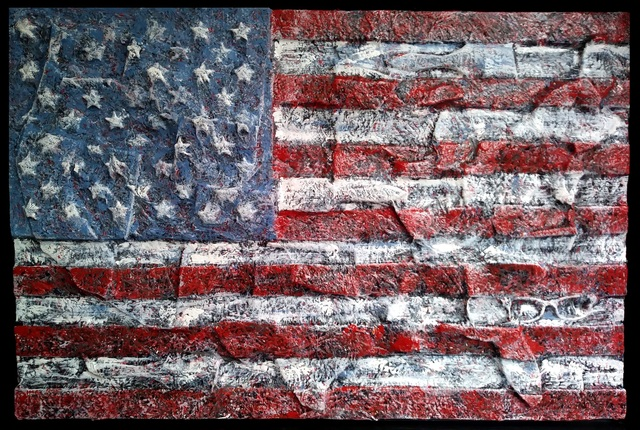 ", '""Old Glory"",' 2018, Ezair Gallery"