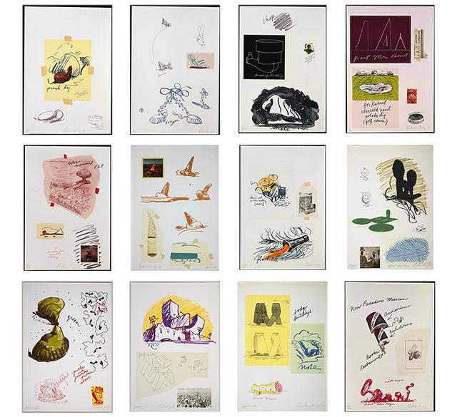 Claes Oldenburg, 'Notes', 1968, Gemini G.E.L. at Joni Moisant Weyl