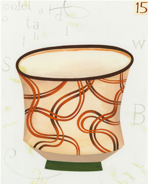 , 'Cup #15,' 2010, The Schoolhouse Gallery