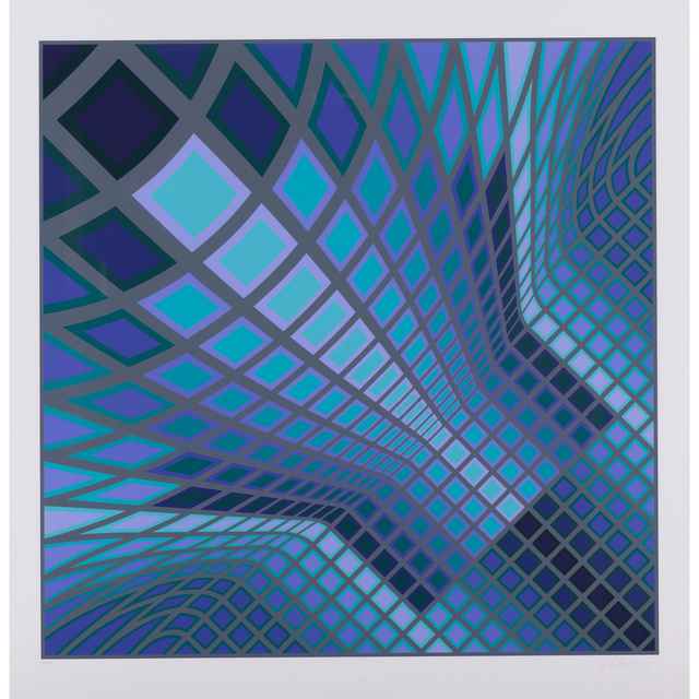 Victor Vasarely, 'Vertche, from the portfolio V-Va', 1978, PIASA