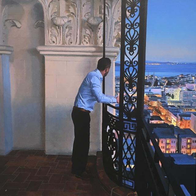, 'San Francisco, first light ,' 2018, Pontone Gallery