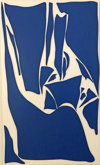 , 'les Compositions (bleu 1),' 2019, Le Feuvre & Roze