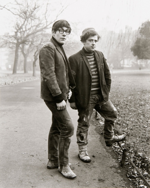 , 'Two Painters, Dublin,' 1967, Danziger Gallery