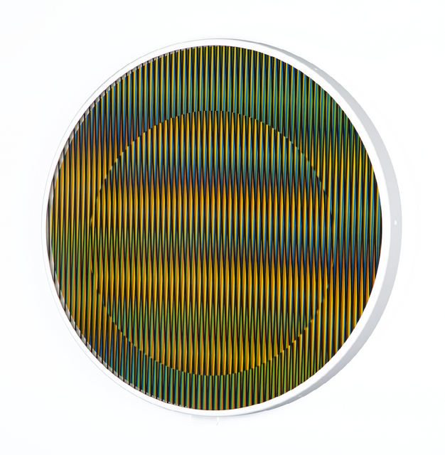 , 'Chromointerference manipulable circulaire B,' 2013, gdm