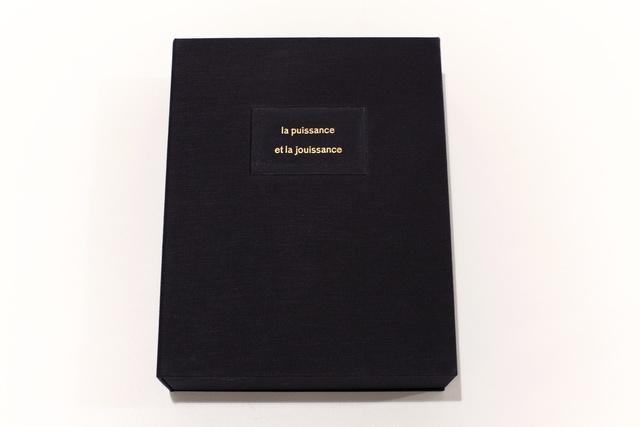 , 'La puissance et la jouissance (Artist Book),' 2015, Mor Charpentier