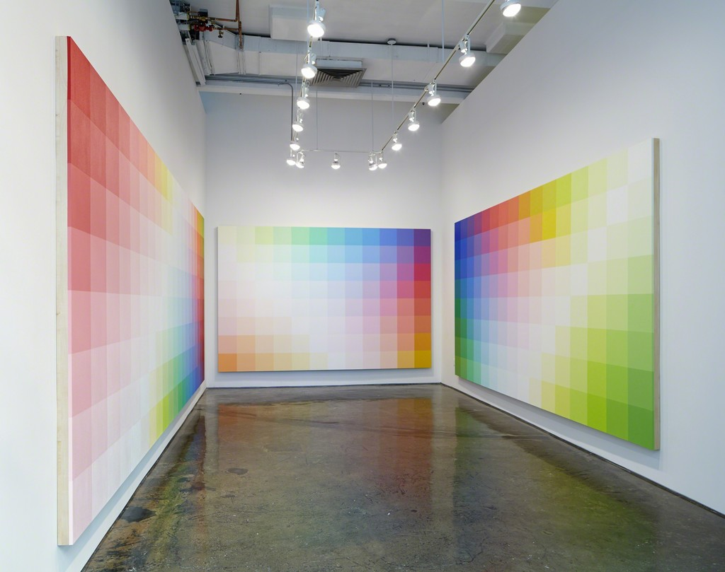 Installation view of Robert Swain: Color as Color, MINUS SPACE, Brooklyn, NY, 2017