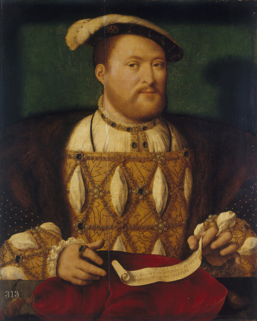 , 'Henri VIII of England,' 1530-1535, Musée du Luxembourg