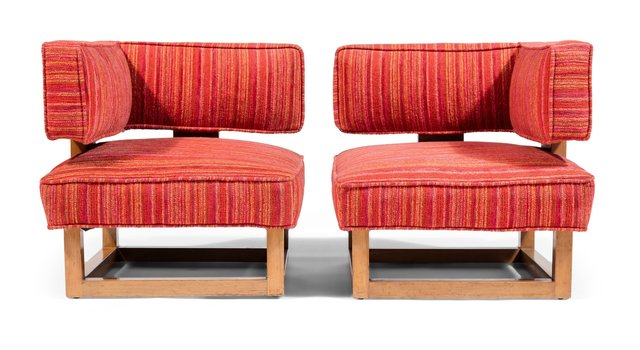 Attributed to Terence Harold Robsjohn-Gibbings, 'Pair of Corner Chairs', circa 1940, Heritage Auctions