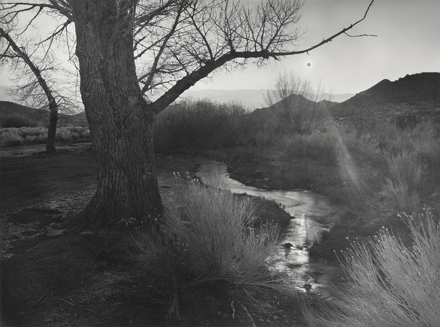 , 'The Black Sun, Tungsten Hills, Owens Valley, California,' 1939, The Ansel Adams Gallery