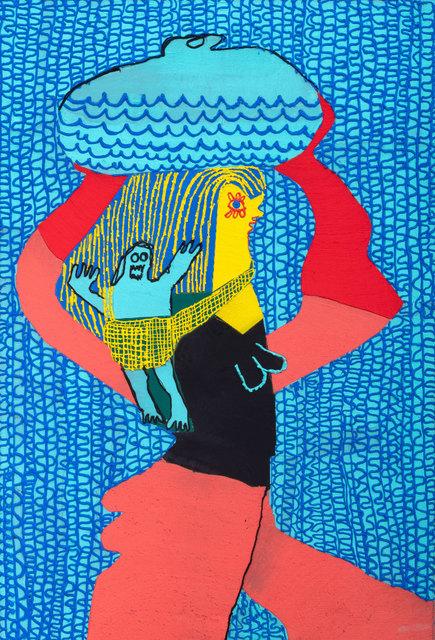 , 'Breadwinner Water and Baby,' 2018, Shulamit Nazarian