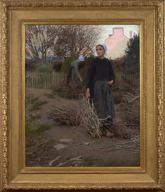 , 'End of the Yard,' 1883, Debra Force Fine Art