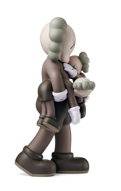 KAWS, 'KAWS Clean Slate Brown Companion ', 2018, Sculpture, Vinyl Cast Resin Figurine, Lot 180