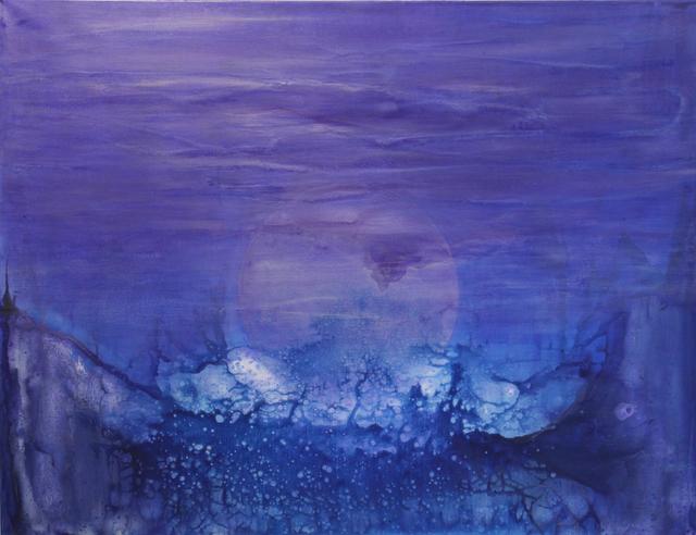"Udo Haderlein, '""Cosmic Moonrise""', 2016, Art 1900"