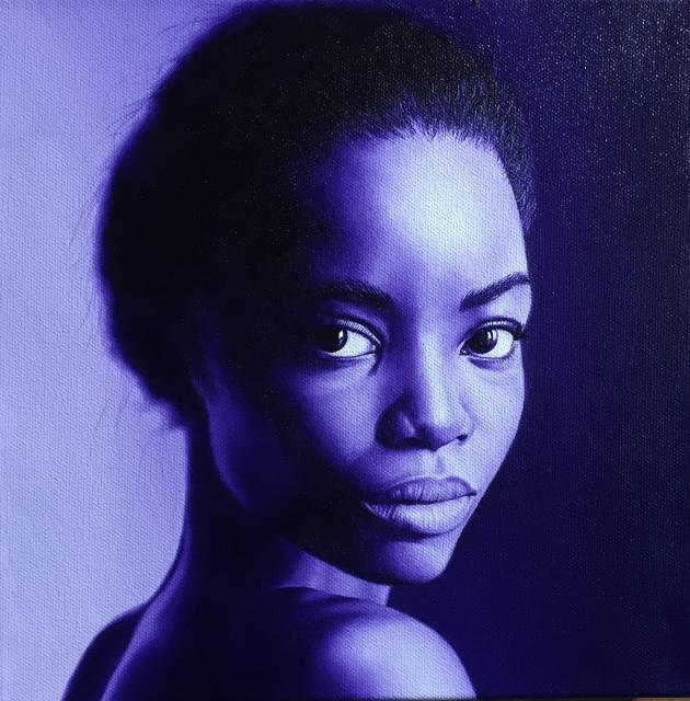 , 'Young Woman No. 2,' 2018, M.A. Doran Gallery