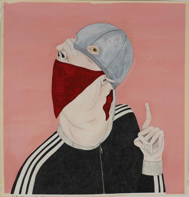 , 'Anarchist Under Moonlight,' 2017, Mobius Gallery