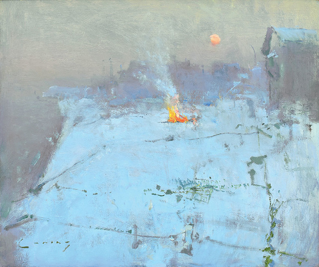 Fred Cuming, 'Bonfire, Hastings Beach', 2019, Adam Gallery