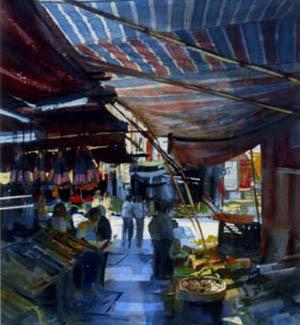 Alexander Creswell, 'Hong Kong, Dried Fish Stall', Portland Gallery