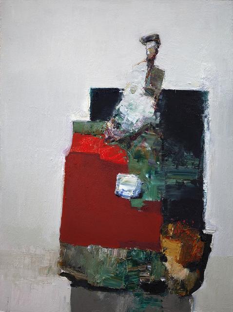 Danny McCaw, 'Shapes II', 2019, Painting, Oil on board (framed), Sue Greenwood Fine Art
