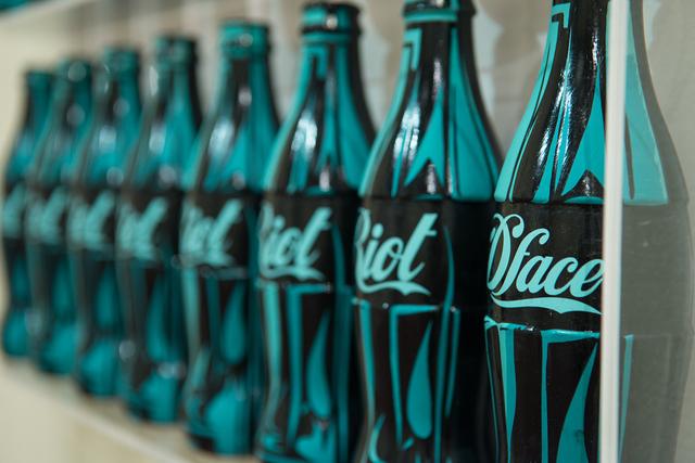 , 'Riot Coke Bottles,' 2017, Treason Gallery