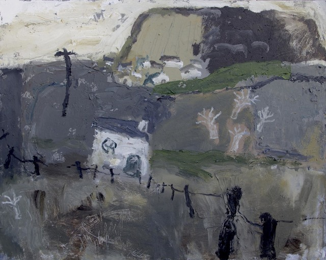 , 'Edge of the Village,' 2015, Cadogan Contemporary