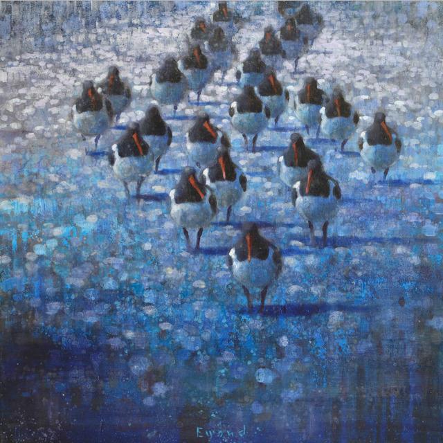 , 'Resting Oyster Catchers,' , Stremmel Gallery