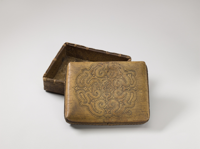 , 'Box with lid,' End of 19th century , Musée du quai Branly