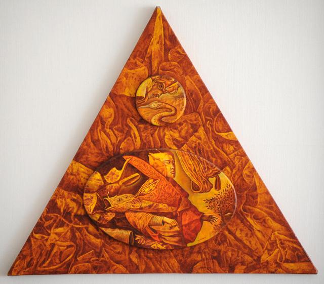 , 'Detrás de la cortina,' 2002, Biaggi & Faure Fine Art