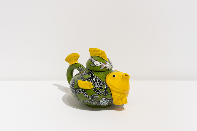 , 'Fish Teapot,' 2018, Eutectic Gallery