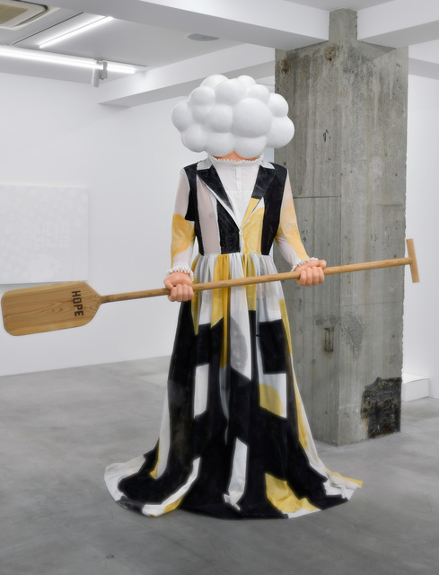 Akira the Hustler, 'Cloud Man (each/together)', 2017-2019, Sculpture, FRP, acrylic, wood, steel, Ota Fine Arts