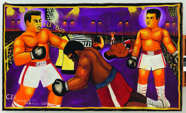 , 'Untitled, (Match Ali-Foreman, Kinshasa),' 1974, Fondation Cartier pour l'art contemporain