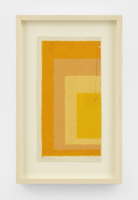 Josef Albers, 'Study for Homage to the Square', n.d., David Zwirner