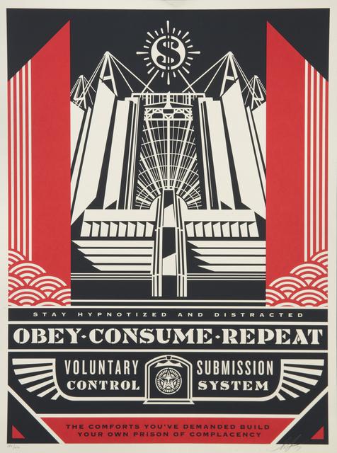 Shepard Fairey, 'Church of Consumption', 2017, Julien's Auctions