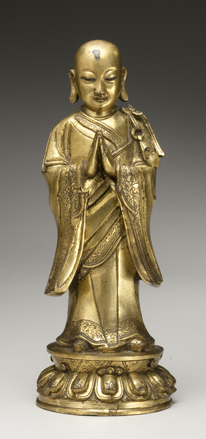 , 'Arhat, Disciple of the Historical Buddha (lived ca. 6th century BC),' 1368-1644, Newark Museum