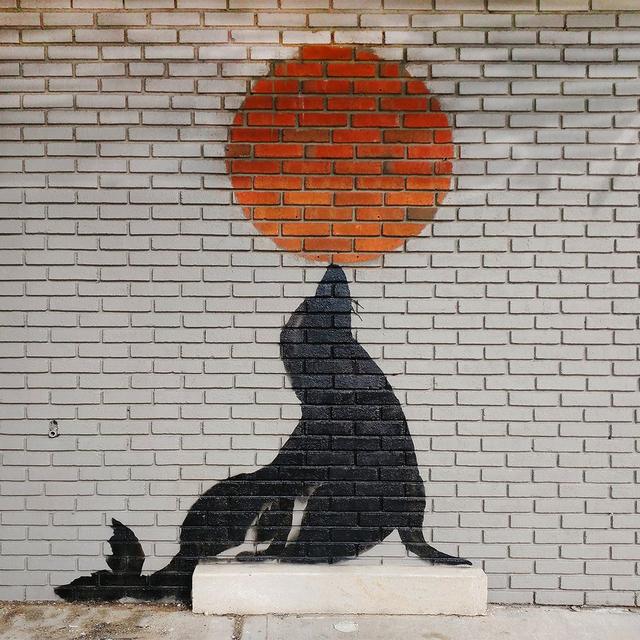 Banksy, 'Seal Wall', 2018, Taglialatella Galleries