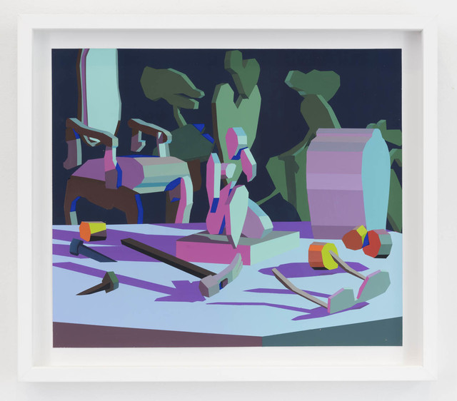 , 'Still Life III (pink frame),' 2018, The Hole