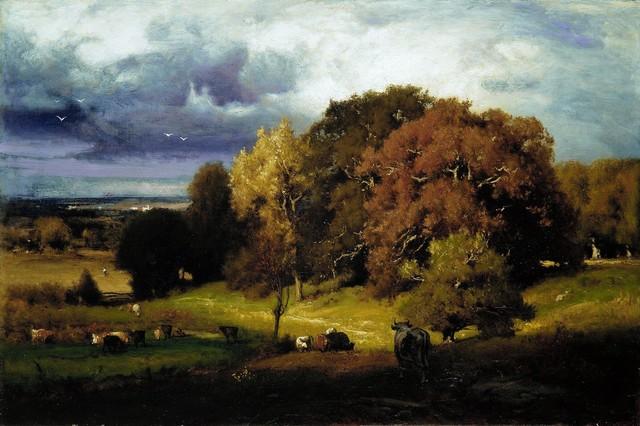 George Inness, 'Autumn Oaks', ca. 1878, The Metropolitan Museum of Art